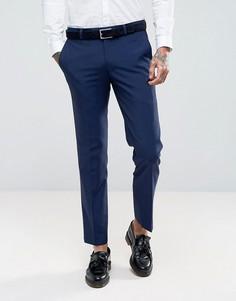 Синие облегающие брюки Harry Brown - Синий
