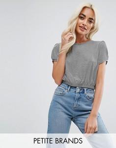 Короткая футболка Miss Selfridge Petite - Мульти