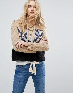Джемпер Maison Scotch Gaucho - Коричневый