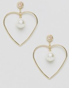 Серьги-кольца LoveRocks London - Золотой