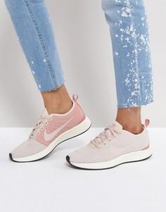 Розовые двухцветные кроссовки Nike - Розовый