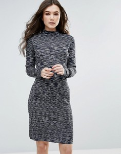 Платье миди Vero Moda - Темно-синий