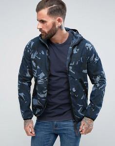 Спортивная куртка с капюшоном G-Star Strett - Синий