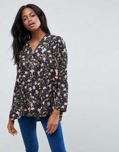 Блузка с принтом Vila - Мульти