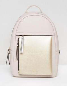 Рюкзак со съемным кошельком на молнии Calvin Klein - Бежевый