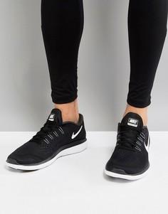 Черные кроссовки Nike Running Flex 2017 898457-001 - Черный