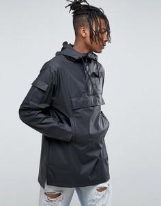 Черный непромокаемый анорак Rains - Черный