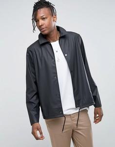 Черная спортивная куртка из водонепроницаемой ткани Rains - Черный