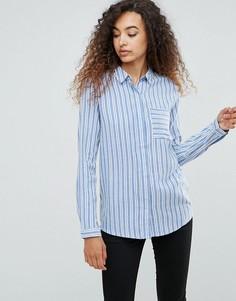 Рубашка в полоску Ichi - Мульти