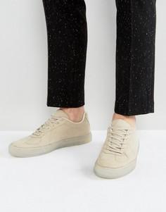 Светло-серые кроссовки с полупрозрачной подошвой ASOS - Светло-серый