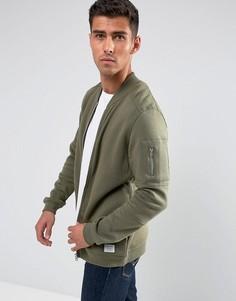 Трикотажная куртка‑пилот Jack & Jones - Зеленый