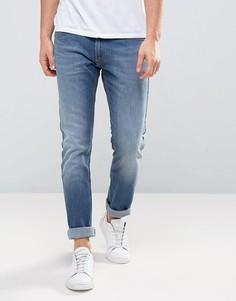 Суженные книзу узкие джинсы Lee Jeans Luke - Синий