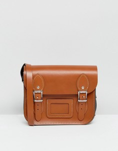 Маленькая сумка сэтчел Leather Satchel Company - Рыжий