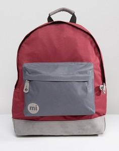 Классический рюкзак с серой отделкой Mi-Pac - Красный