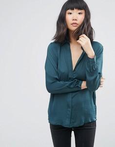 Рубашка Moss Copenhagen - Зеленый
