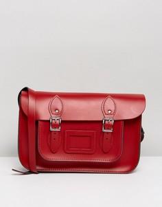 Классический портфель Leather Satchel Company 12.5 - Красный