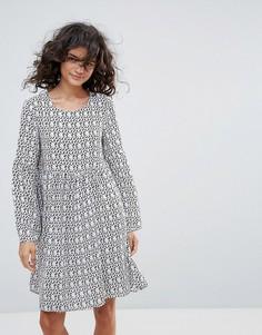 Свободное платье с леопардовым принтом Vero Moda - Мульти