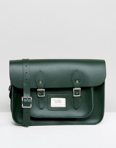 Портфель The Leather Satchel Company - Зеленый