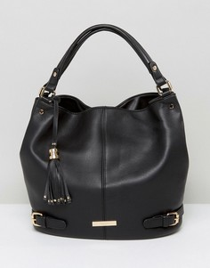 Черная сумка на плечо Dune - Черный