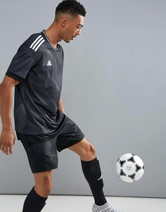 Черная футболка adidas Football Training BR1519 - Черный