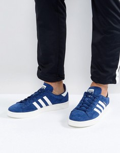 Синие кроссовки adidas Originals Campus BZ0086 - Синий