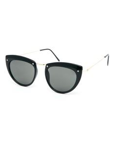 Солнцезащитные очки кошачий глаз Spitfire Helix - Черный