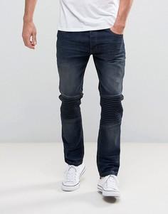 Байкерские джинсы Brave Soul - Синий