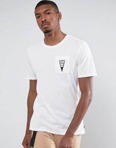 Белая футболка с треугольником Nike SB 852780-100 - Белый