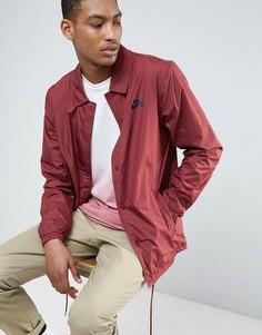 Бордовая спортивная куртка Nike SB 829509-619 - Красный