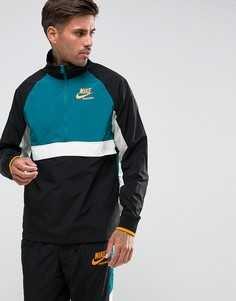 Черная спортивная куртка с молнией Nike Archive 921743-010 - Черный
