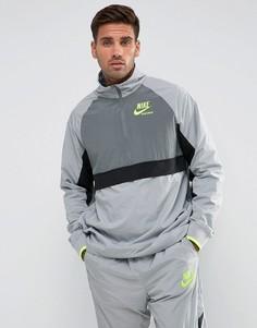 Серая спортивная куртка с молнией Nike Archive 921743-012 - Серый
