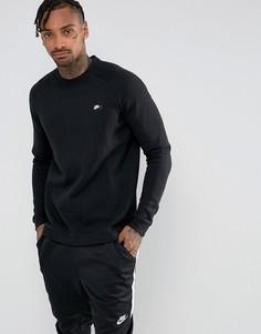 Черный свитшот с круглым вырезом Nike Modern 885970-010 - Черный