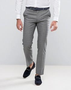 Серые брюки в клетку Harry Brown - Серый