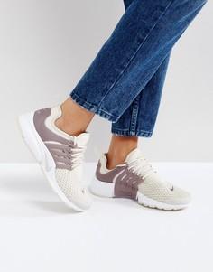 Кроссовки кремового цвета Nike Air Presto Essential - Кремовый