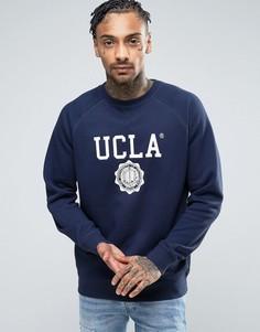 Свитер с логотипом UCLA - Темно-синий