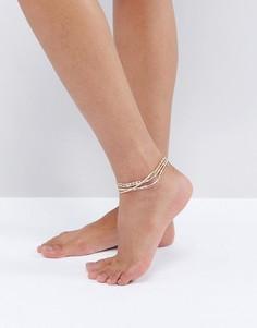 Браслет на ногу ALDO - Золотой