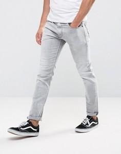 Узкие джинсы Diesel 0684I - Серый