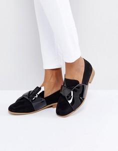 Туфли на плоской подошве ASOS MAXIMUM - Черный