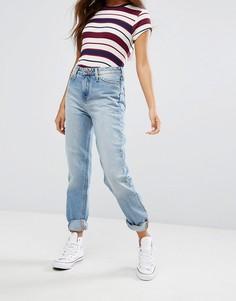 Джинсы в винтажном стиле с завышенной талией Lee - Синий