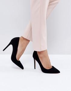 Туфли-лодочки с острым носком Faith Chloe - Черный