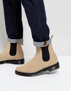 Замшевые ботинки челси Dr Martens 2976 Hi - Бежевый