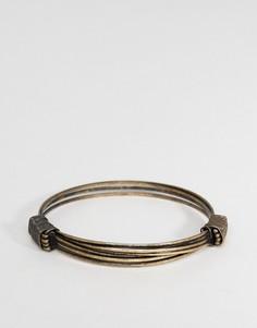 Золотистый браслет Icon Brand - Золотой