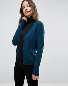 Кардиган с V-образным вырезом Vero Moda - Темно-синий