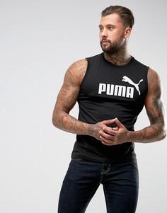 Черная майка Puma ESS No.1 83824001 - Черный