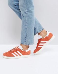 Оранжевые кроссовки adidas Originals Gazelle - Оранжевый