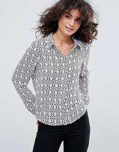 Рубашка с леопардовым принтом Vero Moda - Мульти
