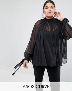7d63d249b9e Купить женские блузки с манжетами в интернет-магазине Lookbuck ...