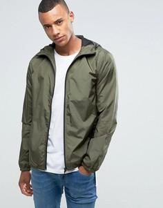 Куртка с капюшоном на молнии Loyalty and Faith - Зеленый