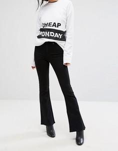 Расклешенные джинсы Cheap Monday - Черный