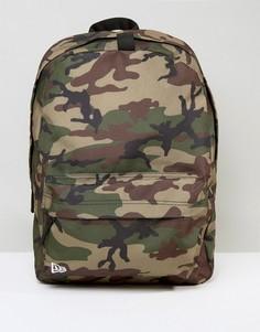 Рюкзак с камуфляжным принтом New Era - Зеленый